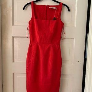 Stella Mccartney Red Cotton Dress sz 38